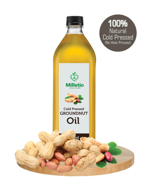 pure and natural organic groundnut oil