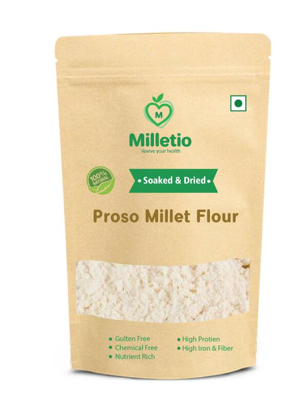 Proso millet flour